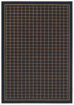 Shaw Living Woven Expressions Gold Bentley 21500 Ebony Closeout Area Rug - 2014