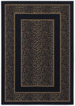 Shaw Living Woven Expressions Gold Safari Skin 14500 Ebony Closeout Area Rug - 2014