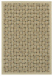 Shaw Living Woven Expressions Gold City Block 15105 Ivory Closeout Area Rug - 2014