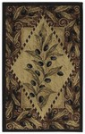 Shaw Living Reflections Olive Diamond 03100 Beige Closeout Area Rug - 2014