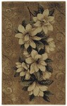 Shaw Living Reflections Magnolias 06200 Gold Closeout Area Rug - 2014