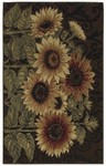 Shaw Living Reflections Sunflower Medley 09700 Brown Closeout Area Rug - 2014