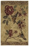 Shaw Living Reflections Bird Study 13100 Beige Closeout Area Rug - 2014
