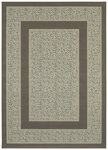 Shaw Living Woven Expressions Platinum Majestic Leopard 04100 Porcelain Closeout Area Rug - 2014