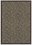 Shaw Living Woven Expressions Gold City Block 15700 Chocolate Closeout Area Rug - 2014