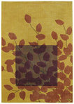 Shaw Living Reverie Haiku 24700 Gold Closeout Area Rug - 2014