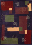 Shaw Living Reverie Pond 08900 Plum Closeout Area Rug - 2014
