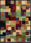 Shaw Living Reverie Shibori 12440 Multi Closeout Area Rug - 2014