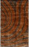 Rug Market Rexford 40224 Dolce Copper/Brown Closeout Area Rug