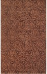 Rug Market Rexford 44022 Alison Rust/Brown Closeout Area Rug