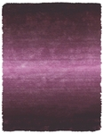 Feizy Indochine 4551F PUR Purple Closeout Area Rug