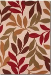 Couristan Ambrosia 4782/0877 Poplar Ivory/Coral Closeout Area Rug - Spring 2015