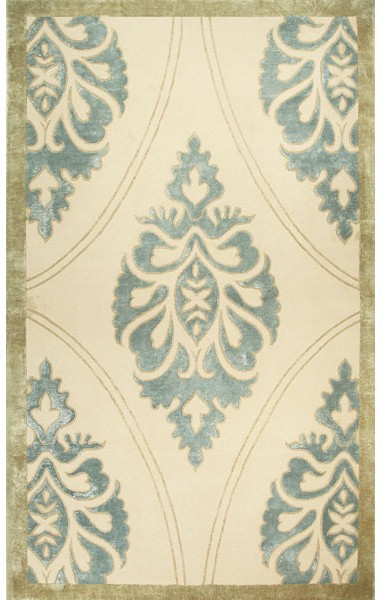 Rug Market Disney Signature 49007 Kingswell Cream Teal