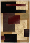 United Weavers Contours 510 20834 Mondavi Burgundy Area Rug