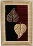United Weavers Contours 510 21834 Basil Burgundy Area Rug