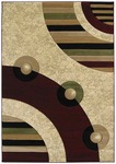 United Weavers Contours 510 22234 Electra Burgundy Closeout Area Rug