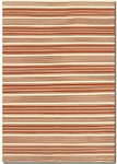 Couristan Grand Cayman 5185/0055 Batabano Terra-Cotta/Ivory Closeout Area Rug - Spring 2016