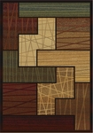 United Weavers Horizons 520 30975 Facade Multi Closeout Area Rug