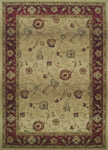 Oriental Weavers Genesis 521J1 Tan/Red Area Rug