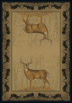 United Weavers Buckwear 534 47317 Believe Deer Area Rug
