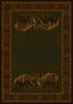 United Weavers Buckwear 534 54174 Winner Takes All Area Rug