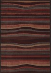 Couristan Aruba 5361/0632 De Palm Tropical Punch Closeout Area Rug