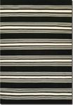 Couristan Grand Cayman 5653/9935 Admiral Black/Ivory Closeout Area Rug - Spring 2016