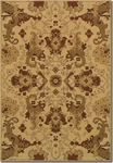 Couristan Alameda 5795/0003 Piper Beige/Maroon Closeout Area Rug - Spring 2015