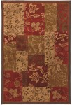 American Rug Craftsmen Madison 58200-58032 Patchwork Brocade Closeout Area Rug