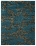 Feizy Bodhi 6033F Azure Closeout Area Rug
