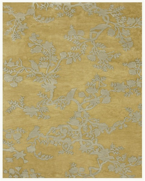 Feizy Bodhi 6033f Light Gold Closeout Area Rug
