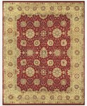 Feizy Drake 6048F Red/Beige Closeout Area Rug