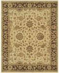 Feizy Drake 6049F Ivory/Brown Area Rug