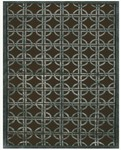 Feizy Dim Sum 6071F Chocolate/Steel Closeout Area Rug