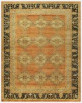 Feizy Ustad 6111F Rust/Charcoal Area Rug