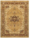 Feizy Ustad 6112F Gold/Brown Area Rug