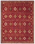 Feizy Ashi 6129F RED Red Area Rug