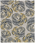 Feizy Bleecker 3612F Graphite Closeout Area Rug