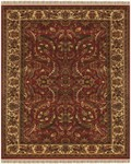 Feizy Edmonton 6520F Red/Ivory Closeout Area Rug