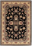 Couristan Himalaya 6522/1000 Royal Arabesque Ebony Closeout Area Rug