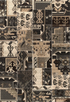 United Weavers Shelby 660 05970 Baja Black Closeout Area Rug