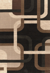 United Weavers Shelby 660 06070 Jersey Black Closeout Area Rug