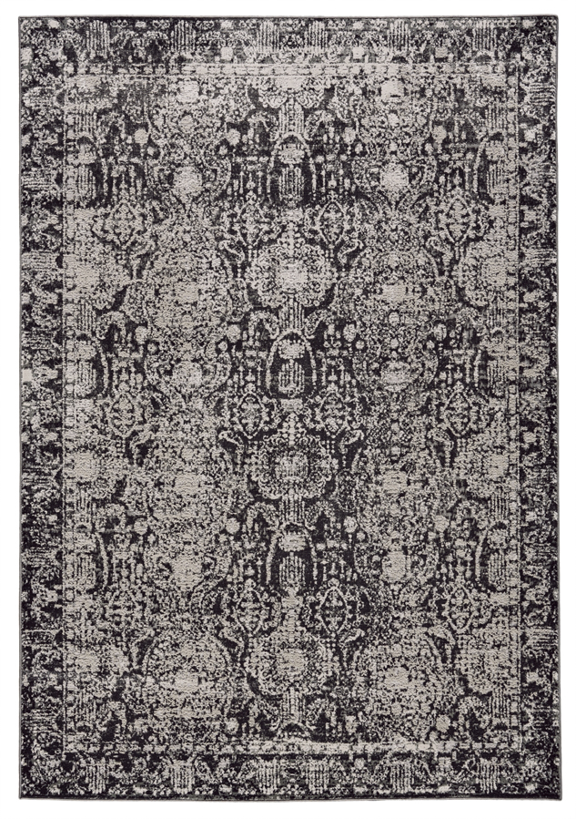 Feizy Prasad 3680f Charcoal Gray Area Rug Rugs A Bound