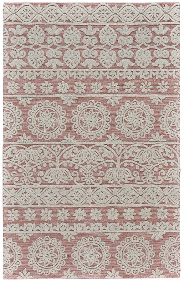 Feizy Primrose 8574f Dusty Pink Area Rug Rugs A Bound