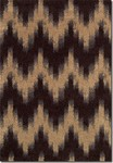 Couristan Moonwalk 6998/5074 Andromeda Chocolate Closeout Area Rug - Spring 2016