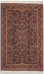Karastan Original Karastan 700-785 Red Sarouk Closeout Area Rug