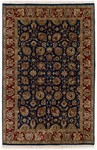 Couristan Shiraz 7045/0809 All Over Floral Midnight Blue Closeout Area Rug - Spring 2011