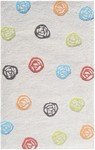 Rug Market Kids Safari 71106 Scribble Dot Cream Multi Area Rug