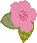 Rug Market Kids Safari 71130 Bloom Green/Pink/White Area Rug