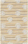 Rug Market Kids Tween 71132 Rosalita Yellow/Grey/White Area Rug